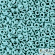 Opaque Turquoise - 5 g - 8/0 Demi Round Beads (55)
