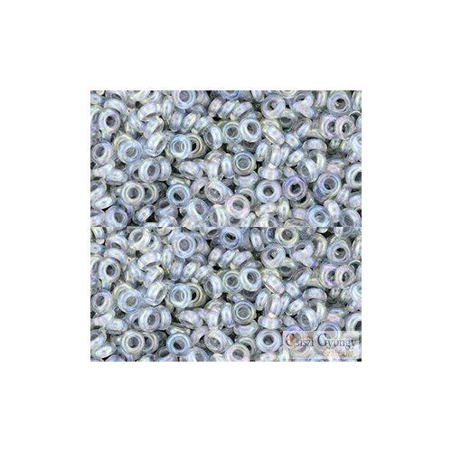 I.C. Rainbow Crystal Gray Lined - 5 g - 8/0 Demi Round gyöngy (261)