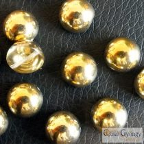 Crystal Amber - 1 pcs - Dome Bead 10x6 mm