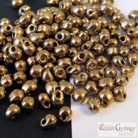 Metallic Bronze - 5 g - Miyuki Drop mérete: 3.4mm (9457)