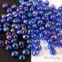 Transparent Cobalt AB - 5 g - Miyuki Drop Beads, 3.4 mm (9177)