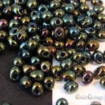 Green Iris - 5 g - Miyuki Drop Beads, 3,4mm (9453)