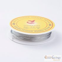 Copper Jewelry Wire - 1 Roll (3 meters) - size: 0.8 mm