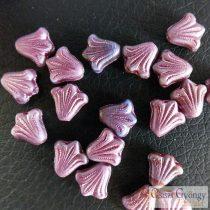 Purple Little Lili - 1 pcs. - Czech glass beads, size: 9x8 mm