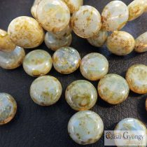 Lentil - 1 pcs. - 10 mm, Czech Glass Bead