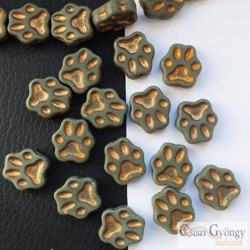 Paw - 1 pcs. - 13 mm, glass bead