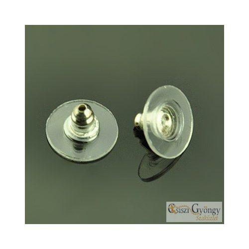 Fülbevaló hátoldal - 10 db - mérete: 11x7 mm