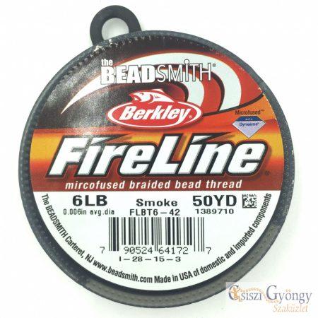 FireLine Smoke - 1 tekercs - 6 LB, átmérő: 0,15 mm, hossza: kb. 45.7 méter