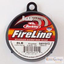 FireLine Crystal - 1 tekercs - 8LB, átmérő: 0,18 mm, hossza: kb. 45.7 méter