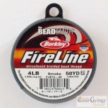 """FireLine Smoke - 1 tekercs - 4LB, átmérő: 0.005"""", hossza: 50 yard (45.7 méter)"""