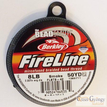 FireLine Smoke - 1 tekercs - 8LB, átmérő: 0.007, hossza: 50 yard (45.7 méter)