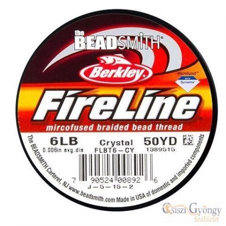 """FireLine Crystal - 1 tekecs - 6 LB, átmérő:0,006"""", 50 yard (kb. 45.7m)"""