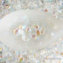Crystal AB - 2,5 g - Gekko Beads 3x5 mm