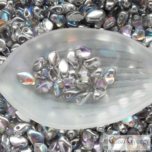 Crystal Silver Rainbow - 2,5 g - Gekko gyöngy 3x5 mm