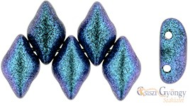 Polychrome Indigo Violet - 5 g - Gemduo gyöngy 8x5 mm