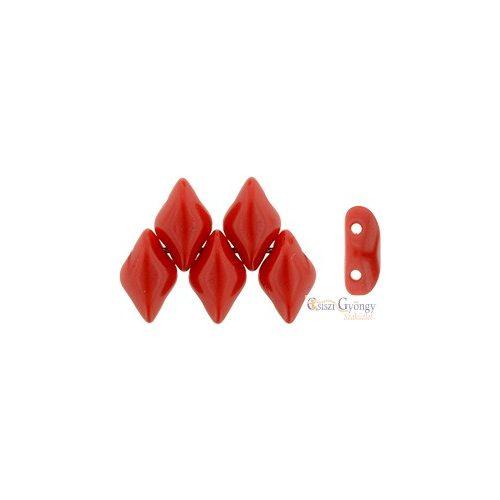 Opaque Red - 5 g - Gemduo gyöngy 8x5 mm (93200)