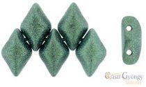Met. Suede Lt. Green - 5 g - Gemduo gyöngy 8x5mm