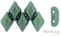 Met. Suede Lt. Green - 5 g - Gemduo Beads 8x5mm