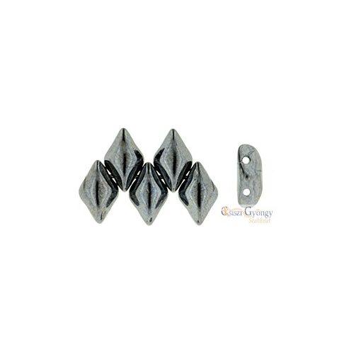 Hematite - 5 g - Gemduo gyöngy 8x5mm (L23980)