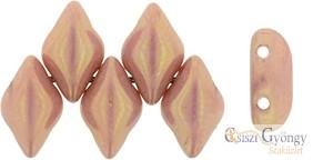 Luster Metallic Pink - 5 g - Gemduo gyöngy 8x5mm