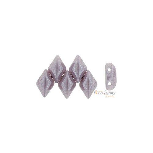 Luster Opaque Amethyst - 5 g - Gemduo gyöngy 5x8 mm