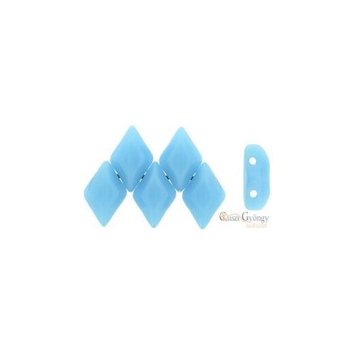 Blue Turquoise - 5 g - Gemduo gyöngy 8x5 mm (63030)