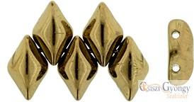 Bronze - 5 g - Gemduo gyöngy 8x5 mm