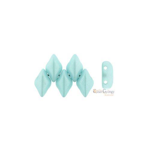 Powdery Pastel Turquoise - 5 g - Gemduo gyöngy 5x8 mm