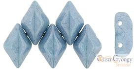 Luster Opaque Blue - 5 g - Gemduo gyöngy 5x8mm