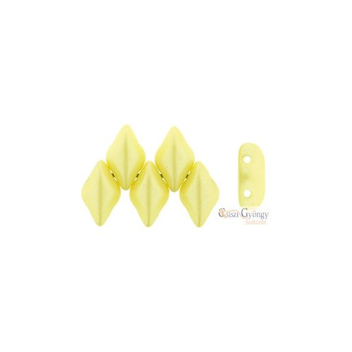 Metallic Suede Dark Purple - 5 g - Gemduo gyöngy 5x8 mm