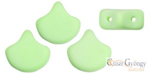 Bondeli Lime - 10 db - Ginkgo Leaf gyöngy 7.5x7.5mm (92924AL)