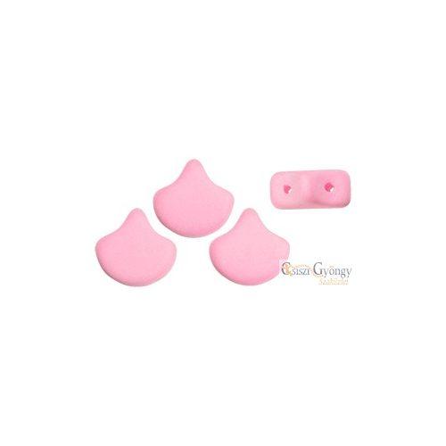 Bondeli Pink - 10 db - Ginkgo Leaf gyöngy, 7.5x7.5mm (92923Al)