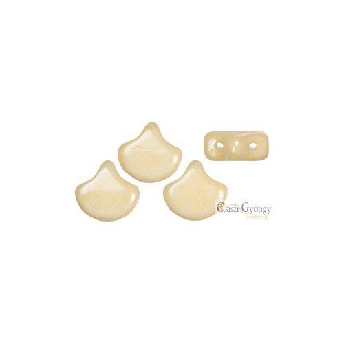Luster Op. Champagne - 10 db - Ginkgo Leaf gyöngy 7.5x7.5mm (LC03000)
