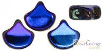 Jet Azuro - 10 pcs. - Ginkgo Leaf Beads 7.5x7.5mm