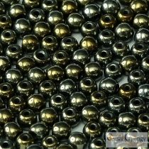 Iris Brown - 50 Stk. - round beads 3 mm (21415)