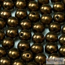 Bronze - 50 pcs. - 3 mm Round Beads