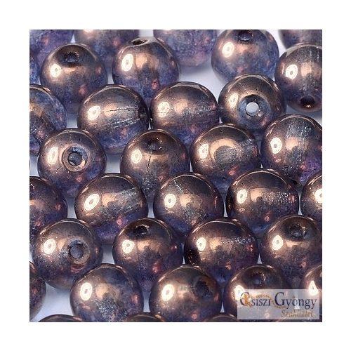 Transp. Luster Amethyst - 20 db - 6 mm golyó (15726)