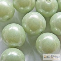 Luster Applegreen - 20 Stk. - Rounde Perlen 6 mm (14457)