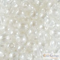 Transparent Pearl Brilliant Crystal - 20 pcs. - 6 mm Round Beads (63024CR)