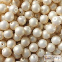 Powdery Pastel Light Gold - 20 db - 6 mm golyó gyöngy (29704AL)