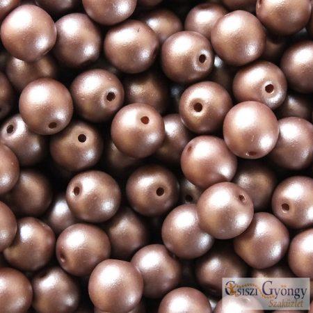 Powdery Pastel Brown - 20 db - 6 mm golyó gyöngy (29346AL)