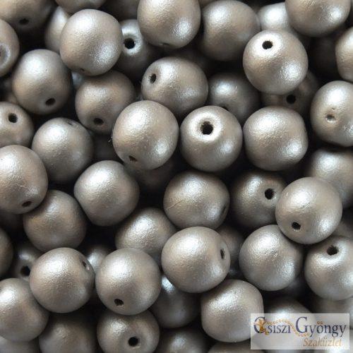 Powdery Pastel Taupe - 20 db - 6 mm golyó gyöngy (29372AL)