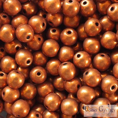 C.T.Sat. Metallic Russet Orange - 20 db - 6 mm golyó gyöngy (06B06)