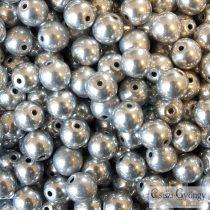 Nickel - 20 pcs. - 6 mm Round Beads