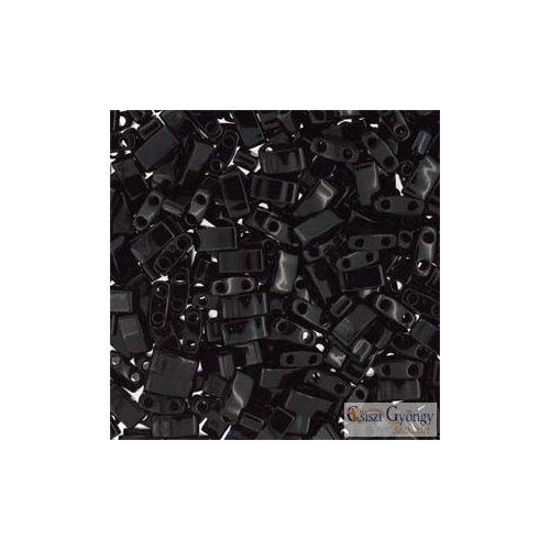 Opaque Black - 5 g - Half Tila 5x2.3x1.9 mm (0401)