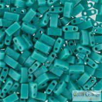 Opaque Turquoise - 5 g - Half Tila Beads