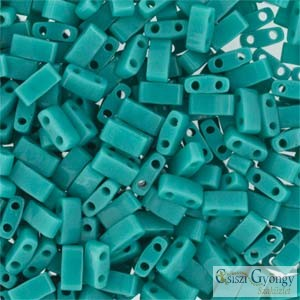 Opaque Turquoise - 5 g - Fél Tila gyöngy
