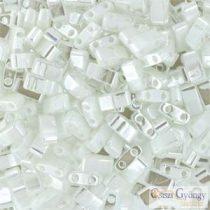 Pearl White - 5 g - Half Tila 5x2.3x1.9 mm