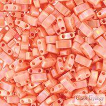 Lüszter Barack - 5 g - Fél Tila gyöngy 5x2,3x1,9mm (0596)