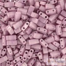 Lüszter Antik Rózsaszín - 5 g - Fél Tila gyöngy 5x2,3x1,9 mm (0599)